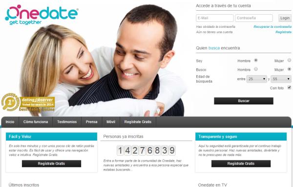 Chat online, busqueda avanzada de perfiles y mas en OneDate