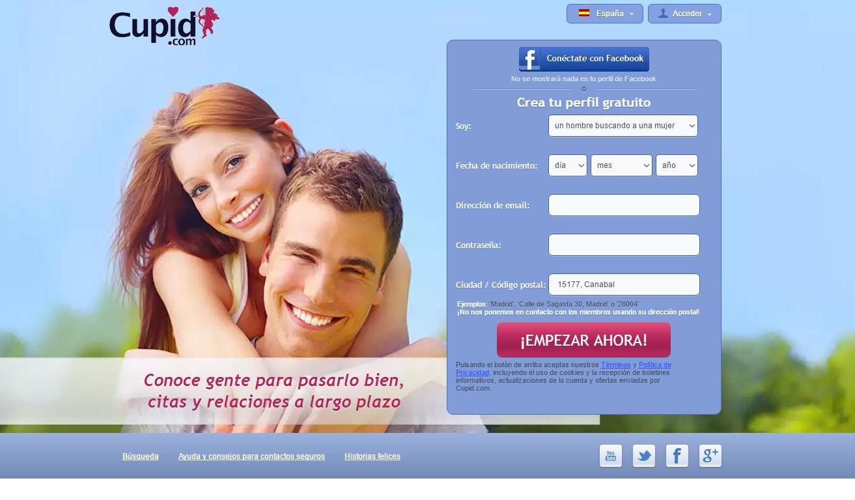 web de citas