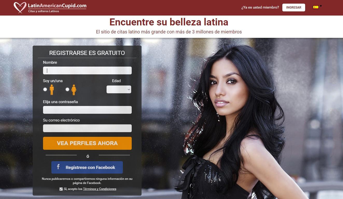 latin american cupid, para conocer chicas latinas