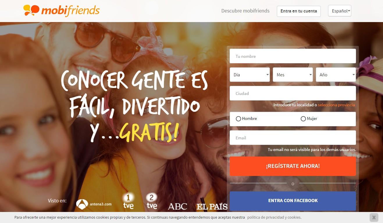 website para conocer personas