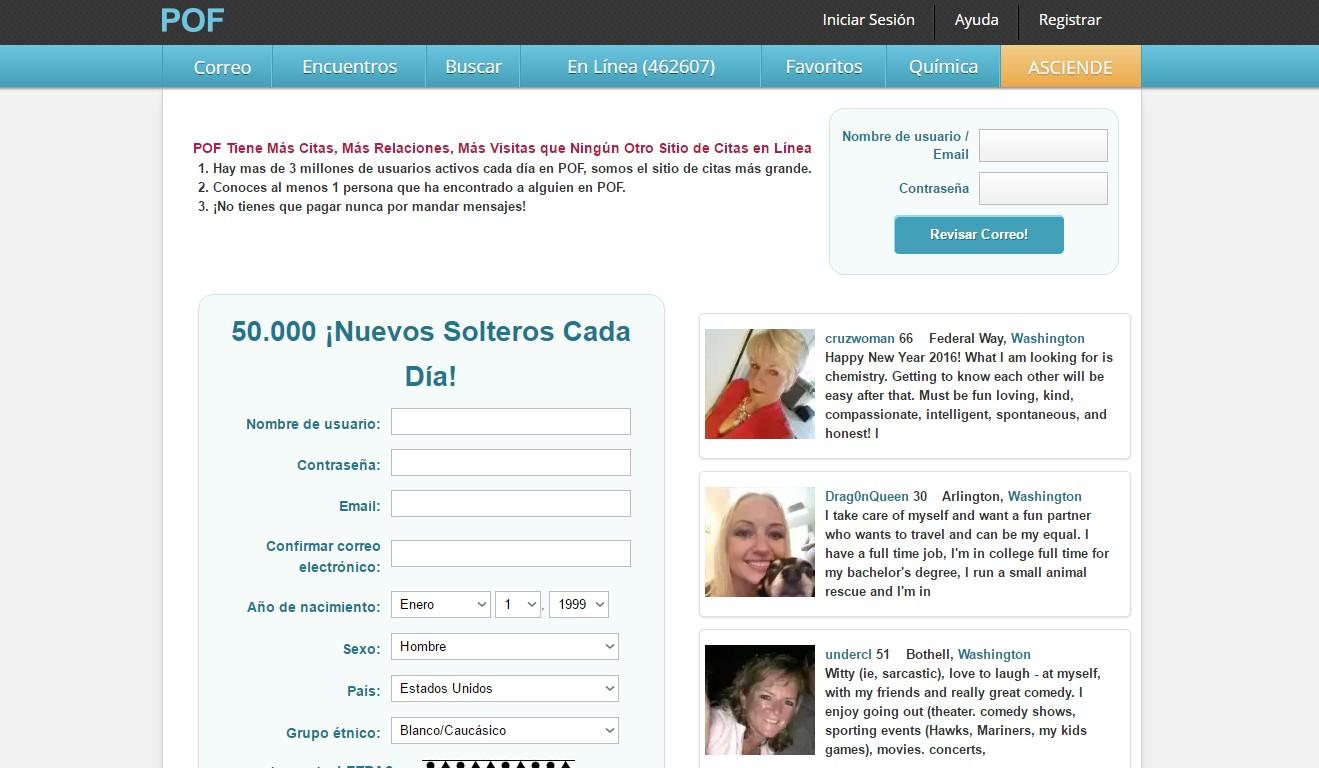 pof - pagina de contactos gratis plenty of fish